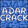 "adarcrack: The words ""Adar Crack"" written in white text on a blue background (adar crack)"