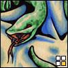 euryale: (snake closeup)