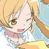 eggsoverteezy: Mami Tomoe gets hit in the face with birds. (Default)