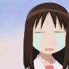 terabient: Osaka from Azumanga Daioh, crying (Azumanga Daioh - Osaka Cry)