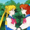 sarajayechan: sometimes I wish Usagi had told Naru about the whole Sailor Moon thing in the anime, too (Usagi+Naru)