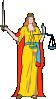 elektra: (lady blind justice)