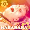 astrogirl: (laughing Kirk)