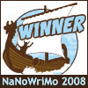 azurelunatic: NaNoWriMo 2008 Winner, pirate ship (nanowrimo 2008)