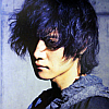hamimi_fk: Toshiya from Dir en Grey, head tilted slightly toward the camera (Toshiya - Blue)