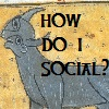 helgatwb: a confused looking cow thing, with the words 'how do i social (social)