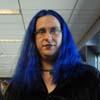 inyou: (blue hair)