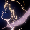 leasspell_dael: Escaflowne's Hitomi with feather (broken clock)