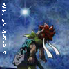 leasspell_dael: Chrono Trigger's Crono dying, caption: a spark of life (ct - crono - a spark of light)