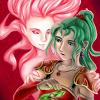 leasspell_dael: FF6's Esper-Terra and Human-Terra (ff6 - terra - duality)