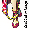 leasspell_dael: Suikoden 5's Sialeeds' foot, caption: shackled by design (gs5 - sialeeds -shackle)