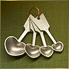 rise: (spoons)