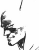 phoenix64: Pencil sketch of Batman's head (batman Neal Adams sketch)