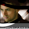 "lannamichaels: Karl Urban with an eye of Horus motif. Text says ""ImpSec's Finest"" (vorkosigan)"