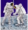 supergee: (moon landing)