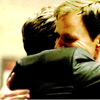 sholio: Peter & Neal hugging in episode 2x14 of White Collar (WhiteCollar-Peter Neal hug)