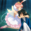 fairytaleknight: Exhausted Fakir, being embraced by Princess Tutu ((ahiru) in Tutu's arms)