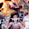 theauthority: A colored comic book image of the original members of The Authority (The Authority: Original Team)