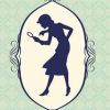 blueswan: nancy drew silhouette (sometimes I feel like a detective)