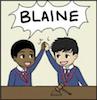 klb: (BLAINE)
