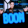 "skieswideopen: Susan Ivanova from Babylon 5 with the word ""boom"" (Babylon 5: Ivanova boom)"