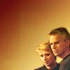 skieswideopen: Sam Carter & Jack O'Neill in the corner (SG: Jack & Sam)