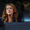 shopfront: Source: Agents of Shield. Bobbi seated, pulling an oops face (Shield - [Bobbi] whoopsidaisy)