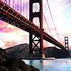 azurelunatic: the Golden Gate bridge.  (golden gate bridge)
