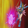 alexseanchai: Dark Magician Girl attacking with pink light (Yu-Gi-Oh! Dark Magician Girl attacks)