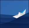 forthwritten: (paper boat)