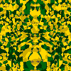 mdude: Yellow and green ink blot style image. (Default)