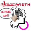 "denise: Image: the DreamSheep in a wheelchair, holding a paper bag, thinking ""April 30?"" (dreamwidth - hyperventilating sheep)"