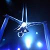 xenacryst: Aerial silks acrobat in an inversion (Aerial silks)