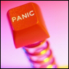 azurelunatic: panic button.  (panic)