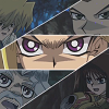 alexseanchai: Yami Yuugi, Anzu, Jounouchi, Honda, and Sugoroku with one intent (Yu-Gi-Oh! five people one purpose)