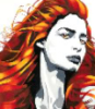 phoenixfire12: Image: Red haired woman. (Firey Goddess)