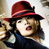 icepixie: ([Agent Carter] Carter red hat poster)