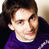 arethinn: David Tennant in purple t-shirt (david tennant (purple shirt))