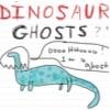 fidget: (Dinosaur Ghost)