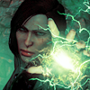 zombieproof: adella trevelyan - dragon age (throwing sparks)