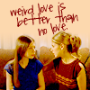 snickfic: Buffy Dawn weird love is better than no love (Buffy Dawn)