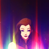 aberration: Asami Sato from Legend of Korra, looking rather glowy. (give your eyes to the sky)