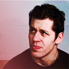 theladyscribe: Geno Malkin looking askance at reporters (let's get skeptical)
