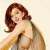 chasingtides: pin-up brunette (brunette)