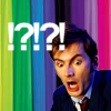 """arch: The 10th Doctor looks shocked/horrified. Text: """"! ? ! ? !"""" (doctor who - ?!?!?!)"""