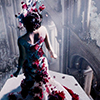 skygiants: Jupiter from Jupiter Ascending, floating over the crowd in her space prom gown (space princess)