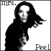 offbalance: (Mrs. Peel)