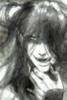aservisroturier: pencil sket h darkened on computer and based on Yana's style. (demon form)