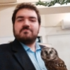 scifantasy: Me. With an owl. (Me)