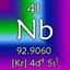 niobium: (nb41)